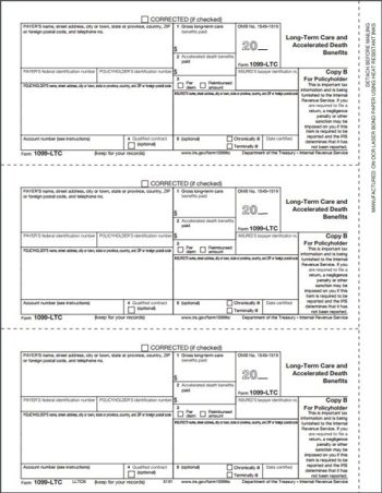 1099-LTC Forms, Copy B - DiscountTaxForms.com