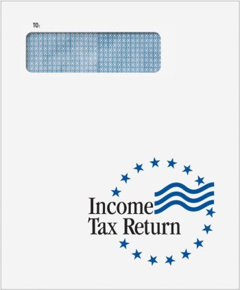 Tax Return Envelopes with 1040 Window for mailing client tax returns - CLNT9F - DiscountTaxForms.com