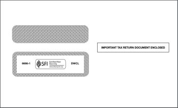 W2 Envelope for 2up W2 Forms DWCL - Discount Tax Forms