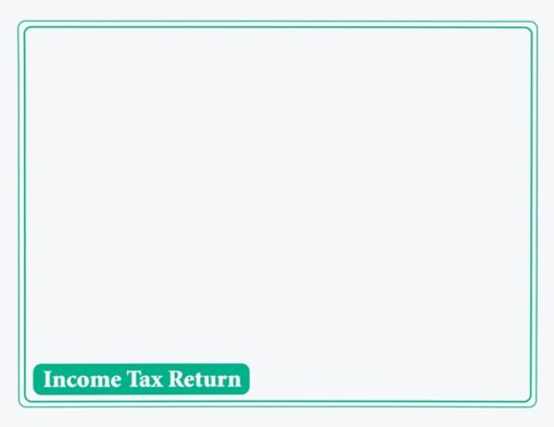 Income Tax Return Envelope 10x13 Green ENV410 - Discount Tax Forms