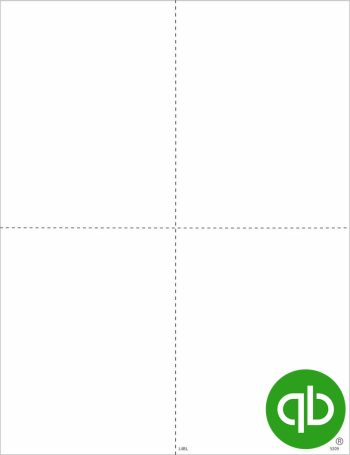 QuickBooks W2 Tax Form Blank 4up Perforated Paper, Guaranteed Compatible at Discount Prices - DiscountTaxForms.com
