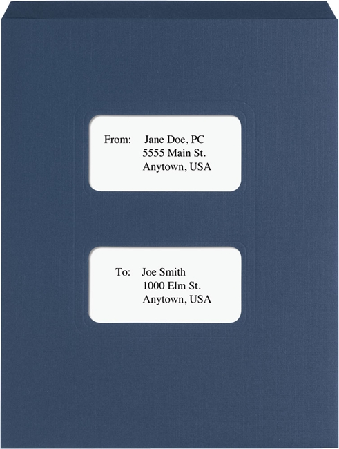 Top Staple Tax Folder with Pocket for Lacerte and Proseries software - Discount Tax Forms