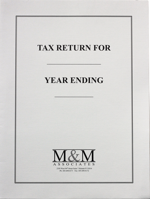 Custom Tax Folders with Expanding Pockets for Large Tax Returns in a Variety of Colors and Styles at Low Prices - DiscountTaxForms.com