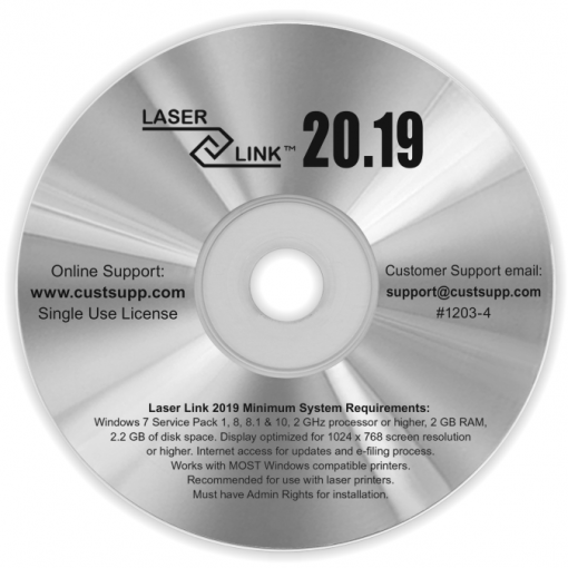 1099 W2 Software for 2019