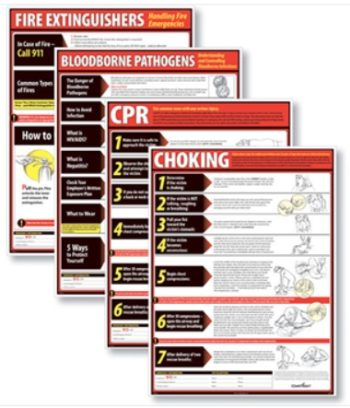 Lifesaving Posters for Workplace Compliance by ComplyRight - Discount Tax Forms