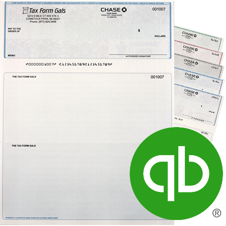 QuickBooks Business Checks at Lower Prices Every Day - DiscountTaxForms.com