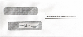 1099 Envelope for 1099 Express Software - DiscountTaxForms.com