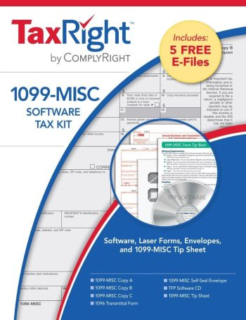 1099MISC Software, Forms & Efile Kit - DiscountTaxForms.com
