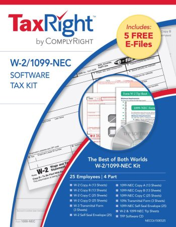 1099 W2 Software, Efile and 1099-NEC & W2 Forms - DiscountTaxForms.com