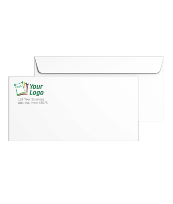 Custom #10 Envelopes with Logos - DiscountTaxForms.com