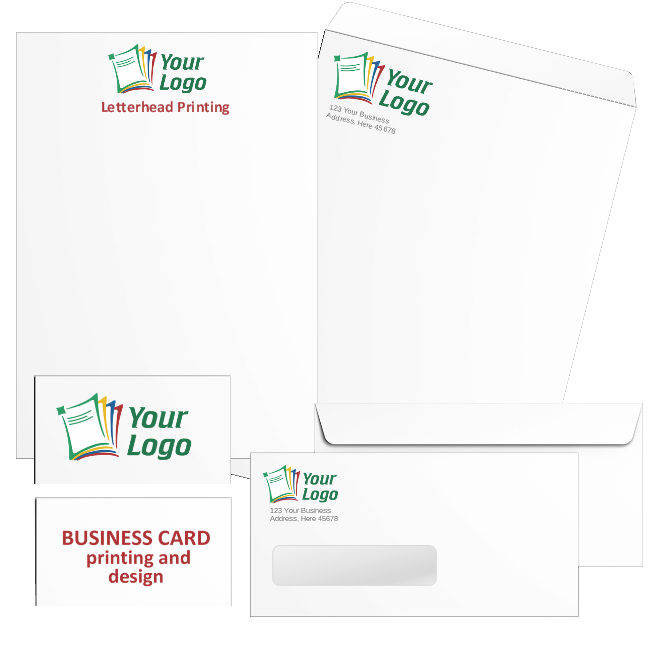 Cheap Business Cards, Letterhead and Custom Logo Envelopes - DiscountTaxForms.com