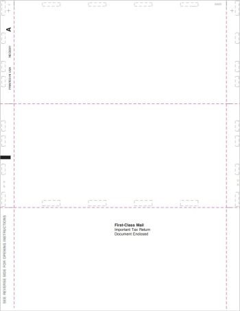 Pressure Seal 1099NEC blank forms - DiscountTaxForms.com