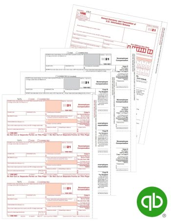 QuickBooks Compatible 1099-NEC Tax Forms Sets, Guaranteed Compatible at Discount Prices - DiscountTaxForms.com