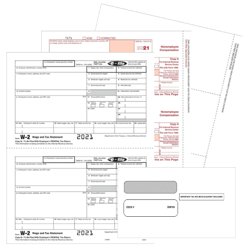 Software Compatible 1099 & W2 Forms for Accounting Software - DiscountTaxForms.com