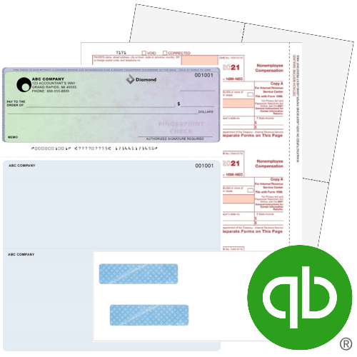 QuickBooks Forms, Checks, 1099 & W2 Tax Forms and Envelopes, Guaranteed Compatible at Discount Prices - DiscountTaxForms.com